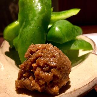 鶏味噌ピーマン(六ヶ城 (ろっかんじょう))
