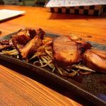 特製煮豚の炙り
