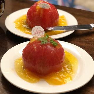まるごとトマトのマリネ オレンジ風味(ブティック ポール・ボキューズ)