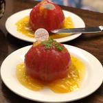 まるごとトマトのマリネ オレンジ風味