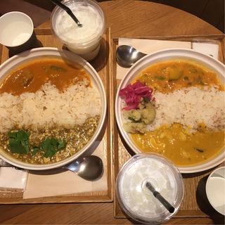 2種がけカレー(スープストックトーキョー アトレ大森店 (Soup Stock Tokyo))