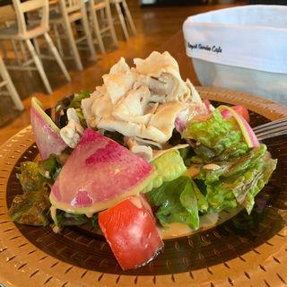 サラダ&スープランチ(ベースキューカフェbyロイヤルガーデンカフェ)