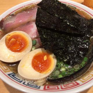煮干しそば+味玉(麺ハウス こもれ美 )