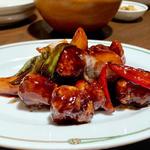 ランチ定食(酢豚)