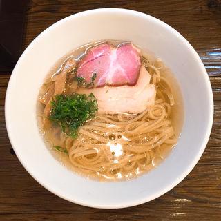 冷やし塩ラーメン(金彩〜KinIro〜)