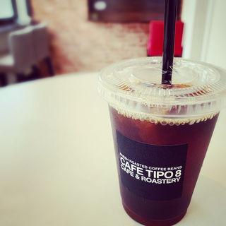 アイスコーヒー(カフェ チーポ・オイト (CAFE TIPO8))