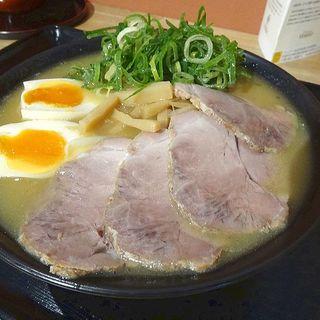 鶏白湯ラーメン(天天有 大阪城店)
