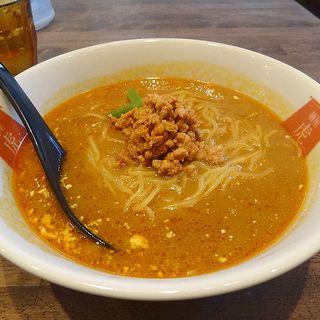 カレー担々麺(麺屋 虎杖 大阪日本橋)