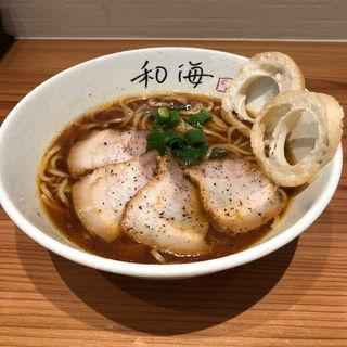 和海醤油(らーめん専門 和海 なんばラーメン一座店)