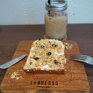 クリームチーズ&グラノーラ(LeBRESSO(レブレッソ) 福岡浄水通店)