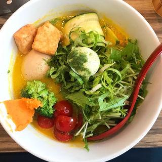 特製ベジソバ(ソラノイロ Japanese soup noodle free style 本店)