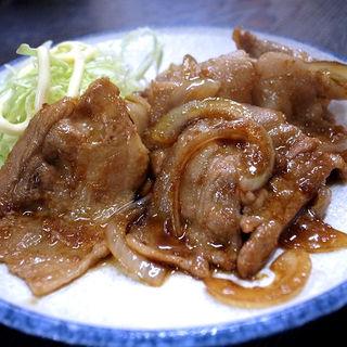 ぶたショウガ焼き(三河屋 )