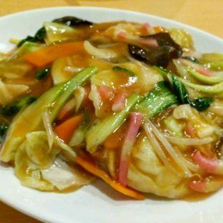 五目あんかけ皿うどん(舞鶴麺飯店)