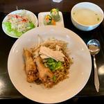 Dセット(汁無麺)