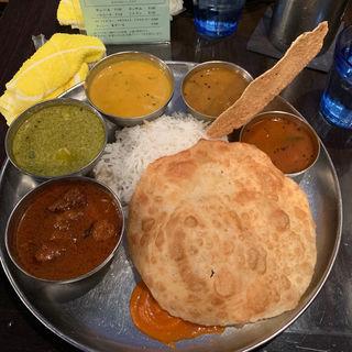 三色カレー(ダバインディア (Dhaba India))