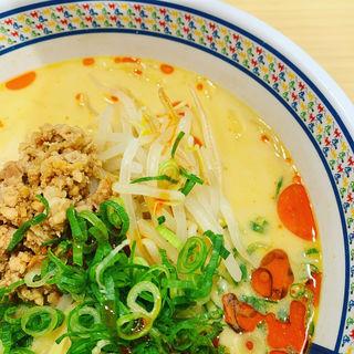 冷たい豆乳担々麺(どうとんぼり神座 阪急三番街店)