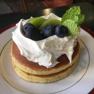 レアチーズホットケーキ(三愛 )