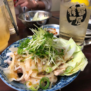 酢モツ(串屋横丁 人形町店 )