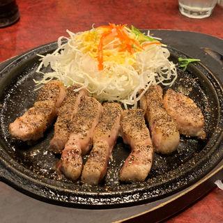 厚切りトンテキ(特上塩トンテキ・並)(広小路キッチンマツヤ )