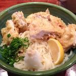 鶏天ぶっかけ冷(細麺)