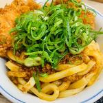カレーうどんチキンカツ丼(かつや 浅草橋店 )