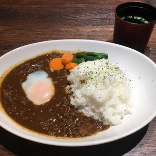 黒毛和牛カレー(飲めるハンバーグ 高田馬場店)