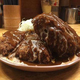 メンチカツ定食L(パセリ )