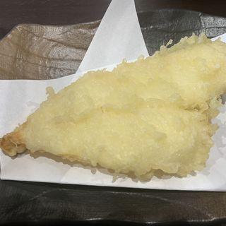 カレイのレモン塩天ぷら(うどん 松ゆき)