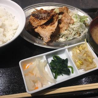 生姜焼き定食(BELON 渋谷店)