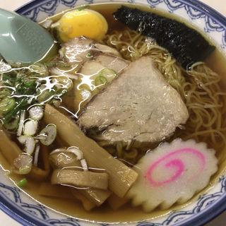 千秋麺(そば処紀文)