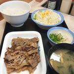 牛焼肉ラージ定食(松屋 川崎西口店 )