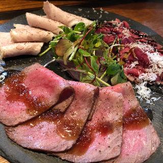 お肉の前菜盛り合わせ(肉バル GAM (ニクバル ガム))