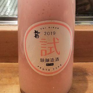 英君酒造「試験醸造酒 PROTO TYPE2019」(居酒屋 純ちゃん )