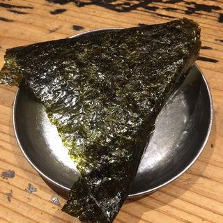 ばくだんおむすび(廣島つけ麺本舗ばくだん屋 名古屋店)