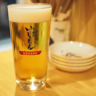 生ビール(立呑やいしもん梅田店)