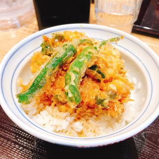 かき揚げ天丼(天丼・らぁ麺 ハゲ天)