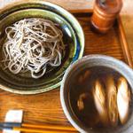 鴨汁そば(そば切り 蕎香 (きょうか))