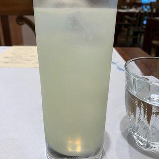 自家製リモンチェッロ(ソーダ)(ピッツェリア・パドリーノ・デル・ショーザン (PIZZERIA PADRINO DEL SHOZAN))