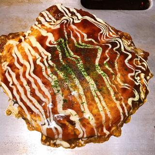 豚いか玉焼き(福太郎 梅田店 )