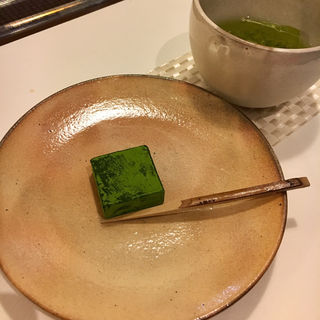 抹茶生チョコレート(光安青霞園茶舗)