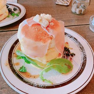 生ハムクリームチーズ(トタンコットンカフェ (totan cotton cafe))