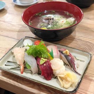 すし定食(鮨・あつ賀 )