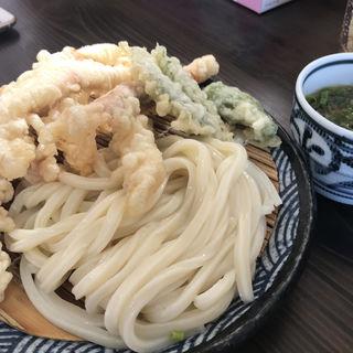 イカ天ざる(麺の蔵)