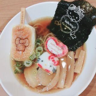 キティ醤油ラーメン(キャラクターフードコート (【旧店名】グルメバザール))