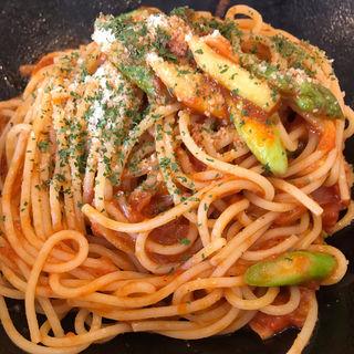 完熟トマト ベーコン ニンニク (らるきい)