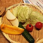 お通し(野菜)