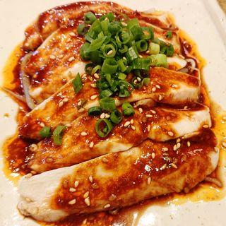 しっとり胸肉(よだれ鶏)(宮崎県日南市 塚田農場 川崎たちばな通り店)
