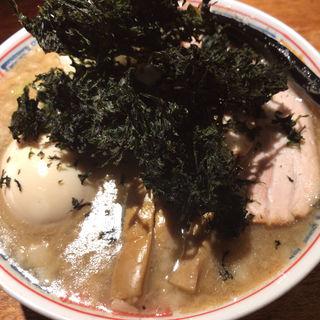 燕三条煮干麺(煮卵、焼きバラ海苔)(麺ハウス こもれ美 )