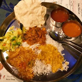 南インド式ベジミールス食べ放題