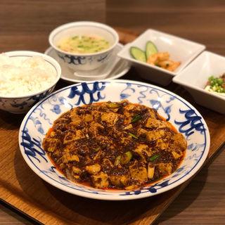 陳麻婆豆腐 土日祝セット(中国名菜 陳麻婆豆腐)